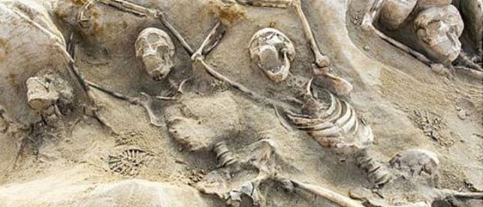 Ancient Mass Grave in Greece